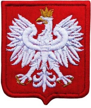 Полоса Эмблема Польский ОРЕЛ на униформе доставка товаров из Польши и Allegro на русском