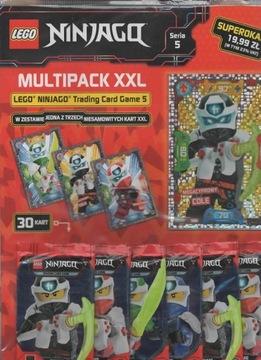 MULTIPACK XXL С КАРТЫ LEGO NINJAGO серия 5 КОУЛ доставка товаров из Польши и Allegro на русском