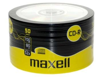 MAXELL CD-R 700MB 80 x48 УПАКОВКА 50 ШТУК доставка товаров из Польши и Allegro на русском