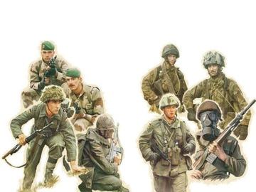 Figurki żołnierze wojsk NATO model 6191 Italeri доставка товаров из Польши и Allegro на русском