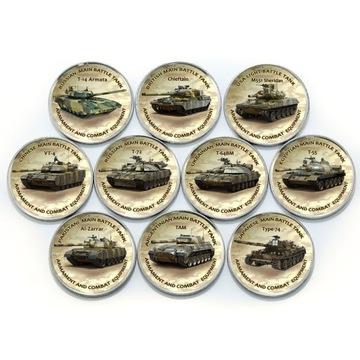 ЗИМБАБВЕ набор из 10 монет танки IV СЕРИЯ 2020 доставка товаров из Польши и Allegro на русском