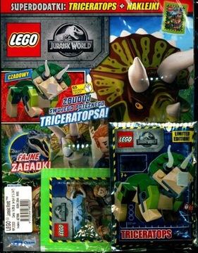 LEGO JURASSIC WORLD № 2/20 + ТРИЦЕРАТОПС доставка товаров из Польши и Allegro на русском