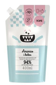 Yope Антибактериальное мыло для детей Ананас Refill доставка товаров из Польши и Allegro на русском