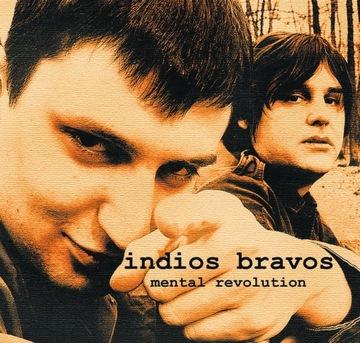 Indios Бравос - MENTAL REVOLUTION foiletowy LP доставка товаров из Польши и Allegro на русском