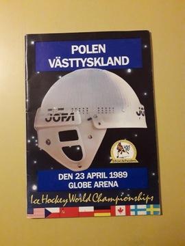 ПОЛЬША - ФРАНЦИЯ 1989 / ЧЕМПИОНАТ МИРА ЭЛИТЫ  доставка товаров из Польши и Allegro на русском