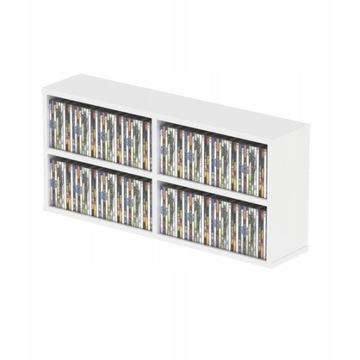 Stojak Półka Segregator Glorious CD Box 180 White доставка товаров из Польши и Allegro на русском