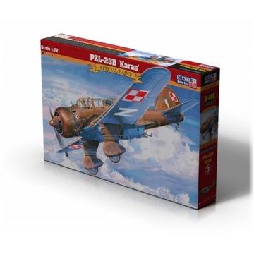 PZL-23B KARAŚ MODEL SAMOLOTU + KLEJ i FARBY доставка товаров из Польши и Allegro на русском