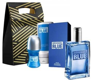 AVON INDIVIDUAL BLUE EDT100+50+250+СУМКА XXL ZESTA доставка товаров из Польши и Allegro на русском