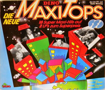 Neue Dino Maxi Tops 1986 SKŁ 2x12' Eddy Huntington доставка товаров из Польши и Allegro на русском