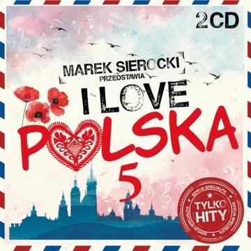 MAREK SIEROCKI ПРЕДСТАВЛЯЕТ I Love Польша 5 2CD доставка товаров из Польши и Allegro на русском
