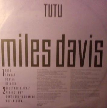 MILES DAVIS - TUTU LP (1986) доставка товаров из Польши и Allegro на русском