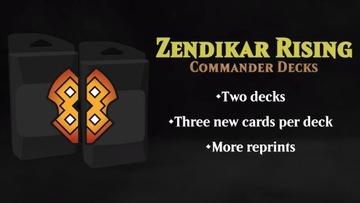 Commander Deck Zendikar Rising Предзаказа доставка товаров из Польши и Allegro на русском