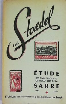 Etude timbres-poste et obliterations de la Sarre доставка товаров из Польши и Allegro на русском