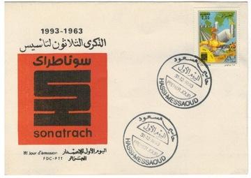 FDC Марки Алжир 1993 sport нефть газ доставка товаров из Польши и Allegro на русском