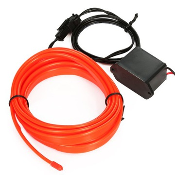 1M оптоволоконный кабель, EL WIRE Лента Ambient Панель как ИНДИКАТОР доставка товаров из Польши и Allegro на русском