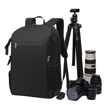 (Рюкзак для фото-камеры и ноутбука 15,6 Тано) доставка товаров из Польши и Allegro на русском