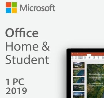 Microsoft Office Home and Student 2019 PL WIN доставка товаров из Польши и Allegro на русском