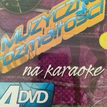 muzyczne rozmaitości na KARAOKE box 4x DVD доставка товаров из Польши и Allegro на русском
