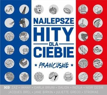Лучшие хиты для Вас: Французские (3CD) ALIZEE доставка товаров из Польши и Allegro на русском