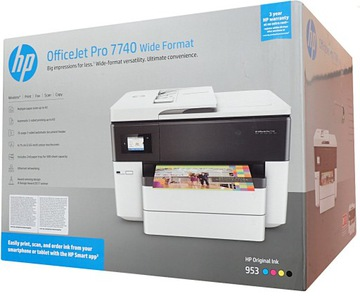 Принтер HP OfficeJet Pro 7740 4 в 1 - сканер A3 доставка товаров из Польши и Allegro на русском