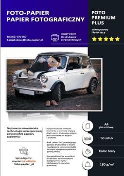 ФОТОБУМАГА ГЛЯНЦЕВАЯ A4 180 г/м2, 50 шт доставка товаров из Польши и Allegro на русском