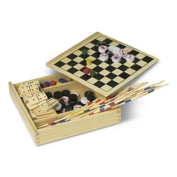 Игра туристическая НАБОР игр в деревянной коробке доставка товаров из Польши и Allegro на русском