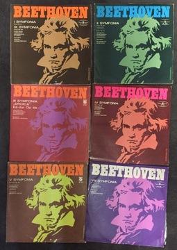 Beethoven 1 2, 3, 4, 5 i 8 Symfonia -Zestaw 6 płyt доставка товаров из Польши и Allegro на русском
