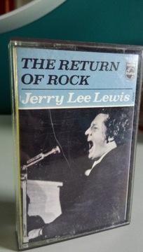 Jerry Lee Lewis THE RETURN OF ROCK Kaseta доставка товаров из Польши и Allegro на русском
