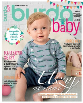 Burda moda baby dzieci 2/2018 szycie wykroje nowe доставка товаров из Польши и Allegro на русском
