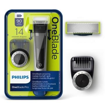 Электробритва Philips OneBlade Pro QP6520/20 14 параметров доставка товаров из Польши и Allegro на русском