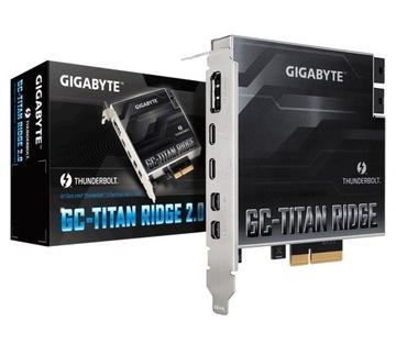 GIGABYTE GC-TITAN RIDGE 2.0 THUNDERBOLT доставка товаров из Польши и Allegro на русском