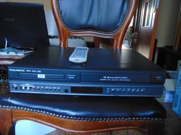 Combo VCR/DVD Palladium z pilotem доставка товаров из Польши и Allegro на русском