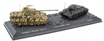Pz.Kpfw. V Panther Ausf. D vs T34/76 - 1:72 доставка товаров из Польши и Allegro на русском
