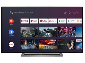 Телевизор TOSHIBA 65UA3A63DG - повреждение доставка товаров из Польши и Allegro на русском