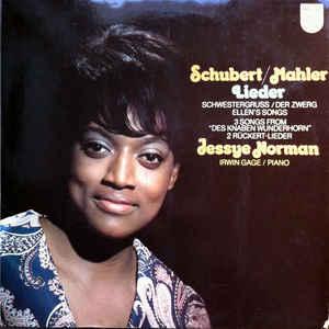 M - Schubert Mahler Norman Gage - Lieder Songs доставка товаров из Польши и Allegro на русском