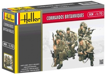 WWII British Commandos, Хеллер 49632 доставка товаров из Польши и Allegro на русском