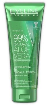 Żel aloesowy EVELINE 99% Aloes ciało twarz 250ml доставка товаров из Польши и Allegro на русском