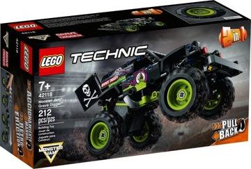 LEGO TECHNIC Monster Jam Grave Digger 42118  доставка товаров из Польши и Allegro на русском