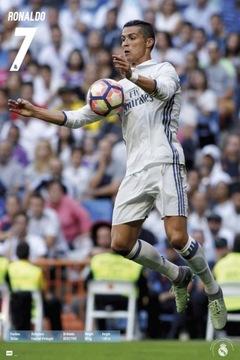 Real Madrid 2016/2017 Роналду - плакат 61x91,5 см доставка товаров из Польши и Allegro на русском