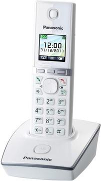 Telefon bezprzewodowy Panasonic KX-TG8051GB Biały доставка товаров из Польши и Allegro на русском