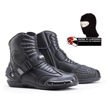 Короткие сапоги SECA SPRINT II BLACK черный ХАЛЯВЫ доставка товаров из Польши и Allegro на русском