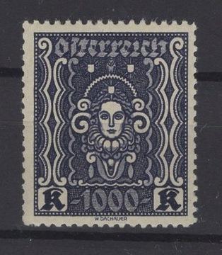 АВСТРИЯ - 1922 ГОД, Мне. 404 B И ** доставка товаров из Польши и Allegro на русском