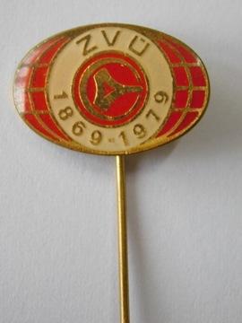 ODZNAKA ZVU 1869-1979 szpilka доставка товаров из Польши и Allegro на русском