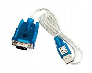 ADAPTER PRZEJŚCIÓWKA KABEL RS232 COM NA USB 1m доставка товаров из Польши и Allegro на русском