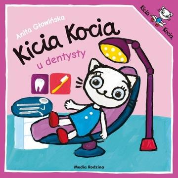 Kicia Kocia u Dentysty Anita Głowińska Książeczka доставка товаров из Польши и Allegro на русском
