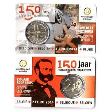 2 евро ок. Бельгия 2014 Кросс - monetfun доставка товаров из Польши и Allegro на русском