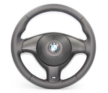 BMW E39 E46 KIEROWNICA M-PAKIET AIRBAG NOWA SKÓRA доставка товаров из Польши и Allegro на русском
