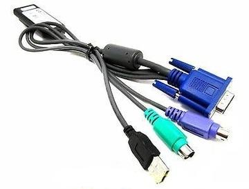 HP KVM PS2/USB Interface Adapter 414619-001 40см доставка товаров из Польши и Allegro на русском