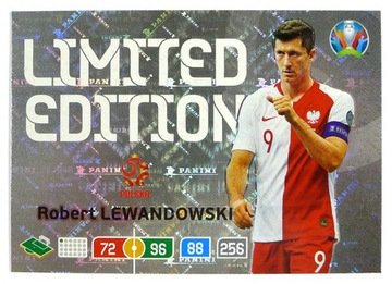 PANINI UEFA EURO 2020 LIMITED Левандовски Польша доставка товаров из Польши и Allegro на русском