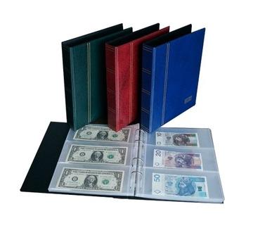 Klaser / Album SH na banknoty 10 kart доставка товаров из Польши и Allegro на русском
